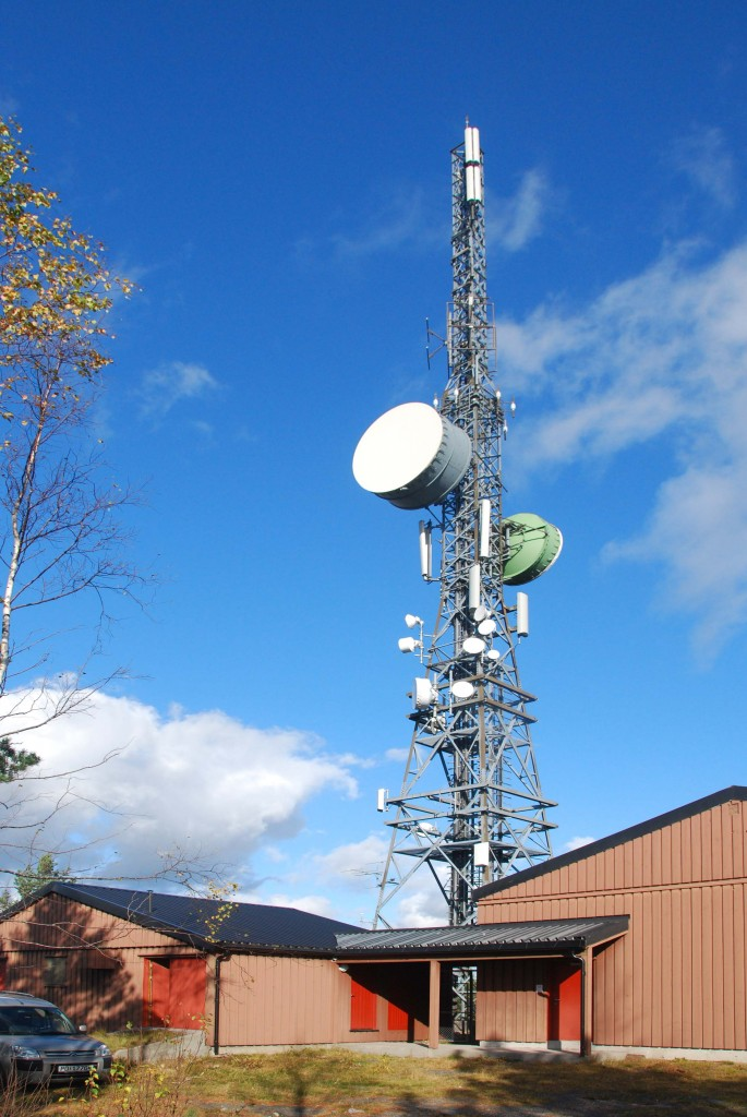 Antennemasta på Heiberg